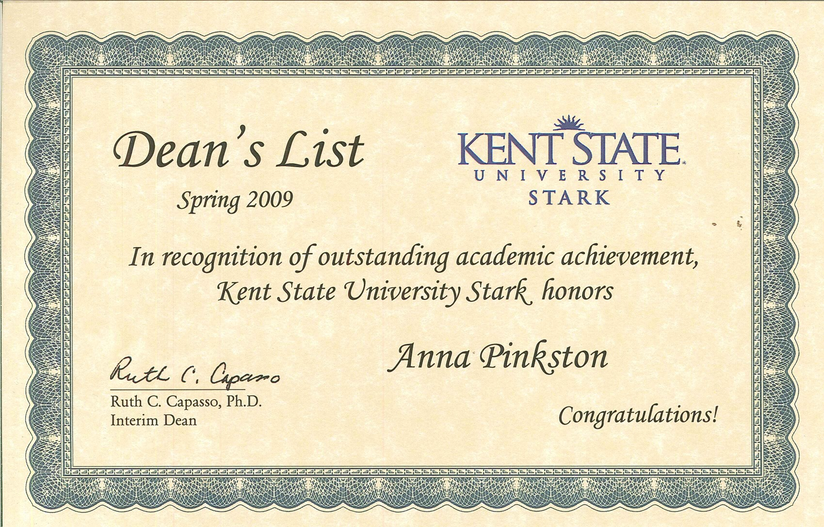 anna pinkston s professional development kent state university at stark certificate of leadership completed seven sessions basic computer skills resume - Leadership Skills For Resume